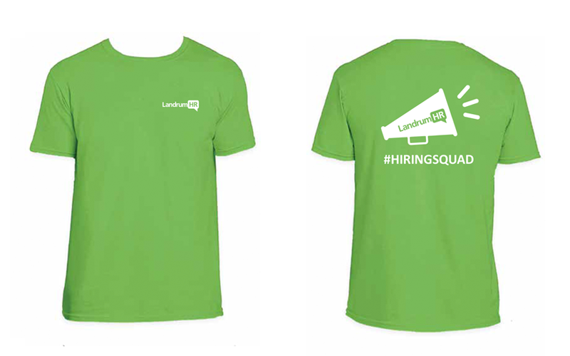 Hiring Event T Shirt Design